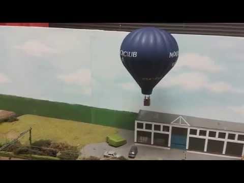 Testvlucht Luchtballon 1 87