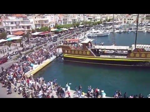 Video - Εκρηκτική η πρώτη Ανάσταση στο λιμάνι της Καλύμνου