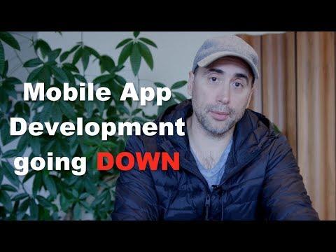 Mobile App Development ... Going DOWN! (видео)