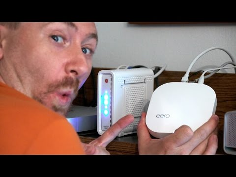 eero WiFi Router System Setup