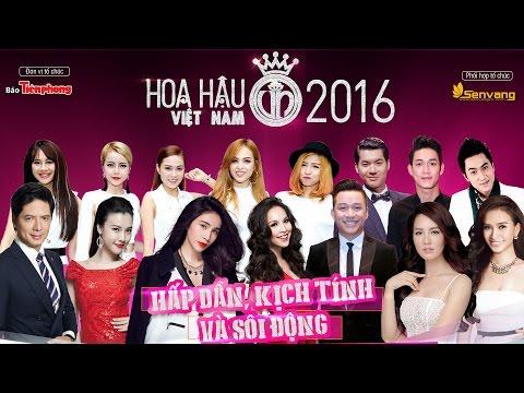 Hoa hậu Việt Nam 2016 chung khảo phía Nam lúc 20h 12/06/2016