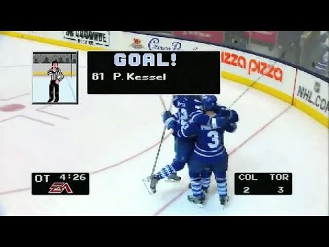 style - Watch Toronto Maple Leafs' forward Phil Kessel score the OT game-winner in glorious NHL '94-style.
