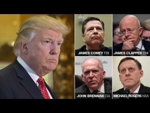 Download Intel chiefs inform Trump of Russian claims HD Mp4 3GP Video and MP3