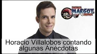 Horacio Villalobos contando algunas Anécdotas