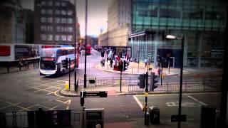 Newcastle upon Tyne - Timelapse with tilt shift