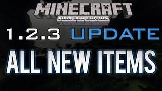 Minecraft: Xbox 360 1.0.1 Update | All New Items (Eye of Ender, Blaze Powder) (UPCOMING UPDATE)