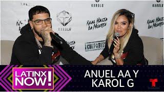 Así es la divertida relación entre Anuel AA y Karol G | Latinx Now! | Entretenimiento