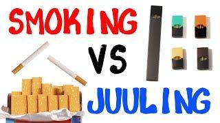 Smoking vs Juuling