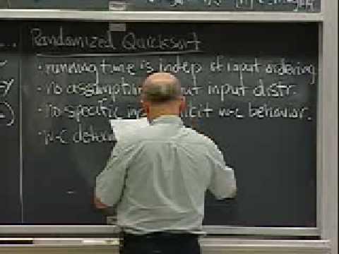 Lec 4 | MIT 6.046J / 18.410J Einführung in Algorithmen (SMA 5503), Herbst 2005