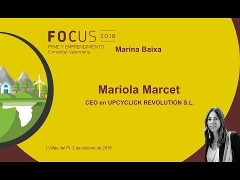 Entrevista Mariola Marcet, CEO Upcyclick en Focus Pyme Marina Baixa[;;;][;;;]