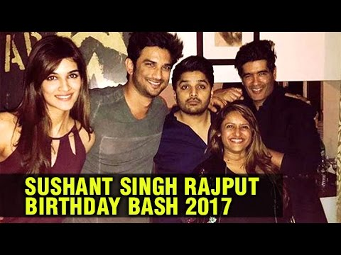 Sushant Singh Rajput Celebrates His Birthday With