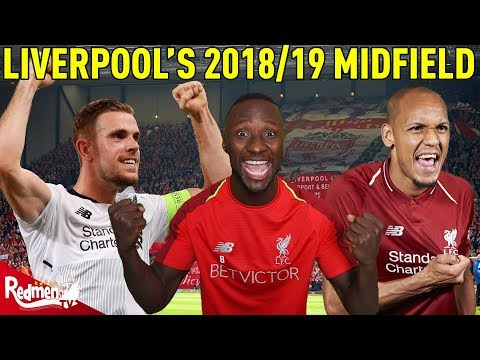 Liverpool's 2018/19 Midfield Options! | Squad Depth Analyser