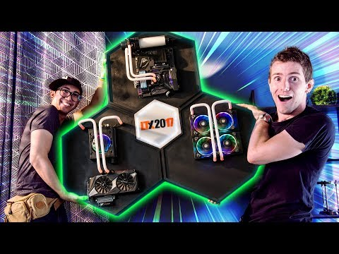 BADASS Wall-Mounted Gaming PC (видео)