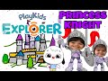 Playkids Explorer Kit Review!! Middle Ages:We Become Knights!!
