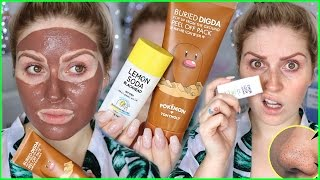 PEEL OFF MASK & BLACKHEAD STICK! 💕👃 First Impression & Review! by Shaaanxo