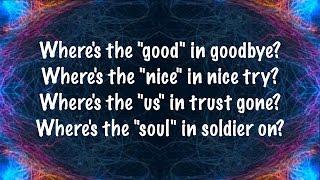 The Script - No Good In Goodbye (Lyrics)