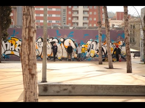 BOOKER TRAVELS - Barcelona: Skate City (видео)