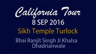 Turlock (CA) United States  city photo : Sikh Temple Turlock | CA, USA | 8.09.2016 | Dhadrianwale