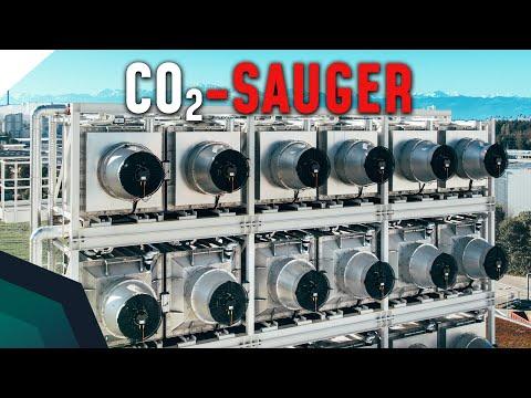 CO2-Giga-Staubsauger - CO2 unter der Erde lagern