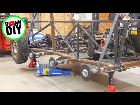Steel Frame & Electrolysis - Tracked Amphibious Vehicle Build Ep. 13
