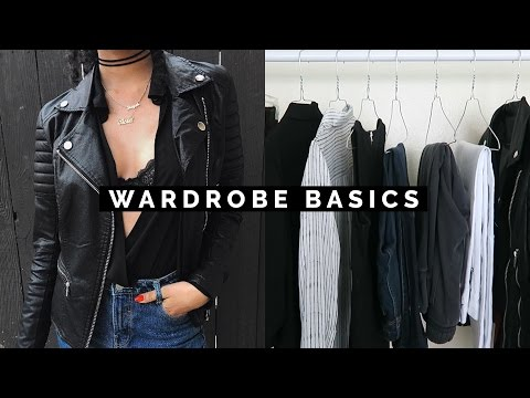 HOW TO BUILD YOUR WARDROBE WITH BASICS (видео)