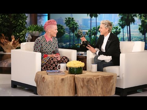 P!NK Tells Ellen That Her And Hubby Carey Hart Are Due For Another Break!
