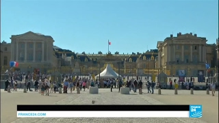 Video Macron-Putin Meeting: French President to host Russian Leader in Versailles MP3, 3GP, MP4, WEBM, AVI, FLV Mei 2017