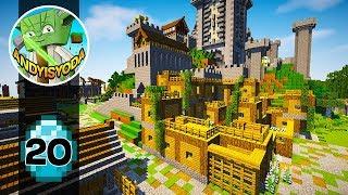 Transform a Minecraft Village into a Town E20