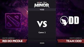 [RU] rei do picole vs Team Odd, Game 2, SA Qualifiers, StarLadder ImbaTV Dota 2 Minor