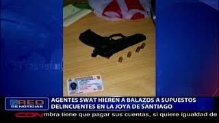 """Agentes """"SWAT"""" hieren a balazos a supuestos delincuentes en La Joya de Santiago"""