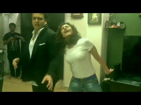 MUST WATCH   Superstar Govinda Dancing With His Niece Ragini Khanna At Home