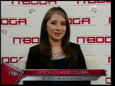 Óptica Los Andes celebra 40 años de aniversario