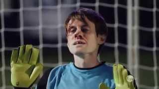 Yüzüyle penaltı kurtaran kaleci