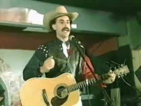Borat - Throw the Jew down the well in Texas