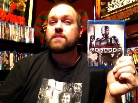 ROBOCOP (1987) NEW 4K TRANSFER BLU-RAY REVIEW!