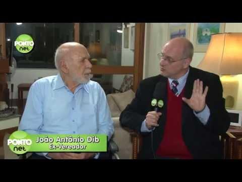 João Antônio Dib é entrevistado por Ricardo Orlandini e David Iasnogrodski (Parte 1)