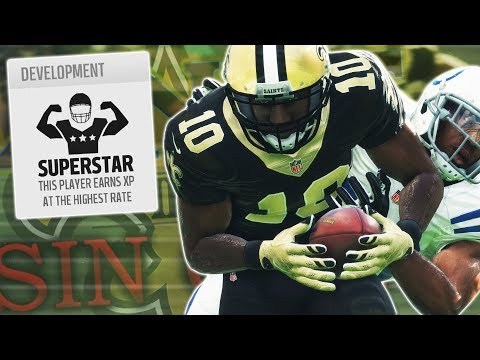 SUPERSTAR WR HAS ANOTHER INCREDIBLE MOSS TD! | Madden 18 Sin City Saints Ep. 30