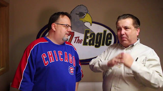 "Double T from 96.7 The Eagle talks with Comedian Dobie Maxwell about his new book, ""Monkey in the Middle."" It's the story of how Dobie's best friend robbed a bank and the comedian was facing a life changing decision. Does he turn in his buddy or go to jail?If you're new, Subscribe! → http://bit.ly/1wcuEI3Go here → http://967theeagle.net.Like us → https://www.facebook.com/967TheEagleFollow us → https://twitter.com/967theeagleGet our newsletter → http://www.967theeagle.net/newsletterFor any licensing requests, please contact rockford.youtube@townsquaremedia.com."