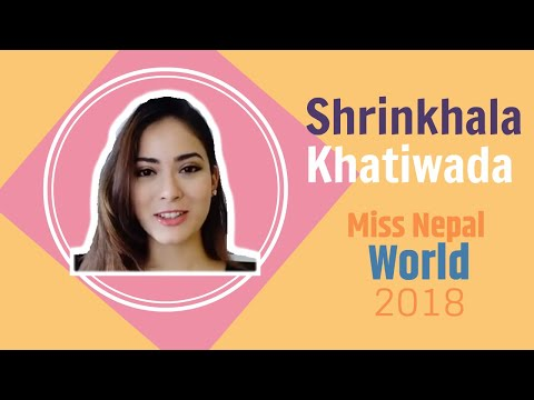 (Shrinkhala Khatiwada   Miss Nepal World 2018   Message for Nepalis people living in Hong Kong - Duration: 6 minutes, 59 seconds.)
