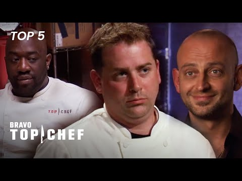 The Most Controversial Moments on Top Chef | Top Chef (Top 5)