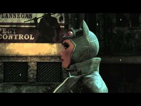 preview-Batman: Arkham City \'Catwoman\' Trailer (Game Zone)