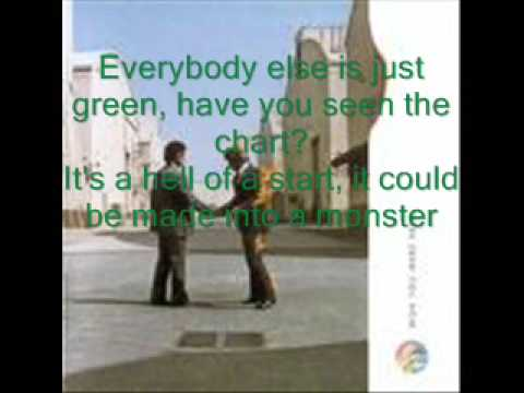 Have a Cigar - Pink Floyd (Lyrics)