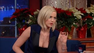 Jennifer Lawrence Enjoys Being A Human Being
