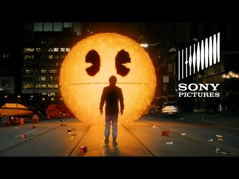 Pixels (Viral Video 'Global Pac-Man Celebration')
