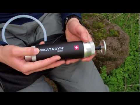 "Katadyn ""Pocket Filter"" Su Filtresi Tanıtımı – İngilizce"