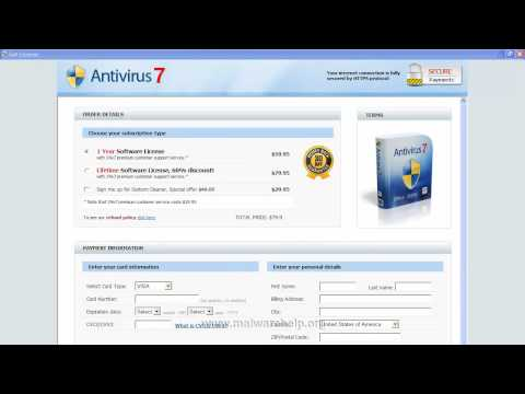 0 Antivirus 7 Analysis and Removal
