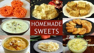 Indian Sweets Recipe | Quick and Easy Mithai Recipes for Diwali