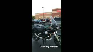 10. Moto Guzzi Stelvio NTX AKA Grocery Getter