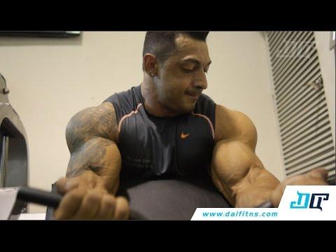 Alvaro Candia - Entrenamiento de brazo