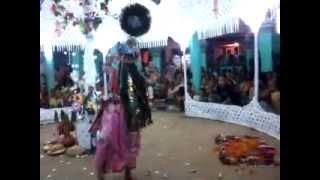 Sri Sri Krishna Ras-Leela (on Dul-Yatra) : Sri Krishna - At Machimpur, Sylhet, Bangladesh.